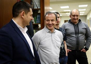Валерий Калюжный принял участие в турнире по блиц шахматам в рамках работы шахматного Клуба «Деловой России»