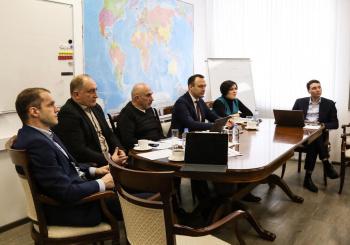 Валерий Калюжный принял участие в мозговом штурме по организации онлайн-платформы поддержки экспортёров ЕАЭС