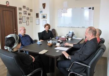 Состоялась встреча с руководителем Дальневосточного представительства Фонда Сколково