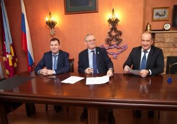 Соглашение о сотрудничестве между ФГБУ «Дальневосточное отделение РАН», Союз «Приморская торгово-промышленная палата» и Ассоциация «Бизнес Клуб «Авангард» было подписано сегодня, 12 января 2018 года